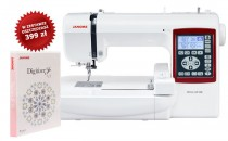 JANOME MC230E Hafciarka sterowana komputerowo + program JANOME DIGITIZER JUNIOR ver 5.0-1